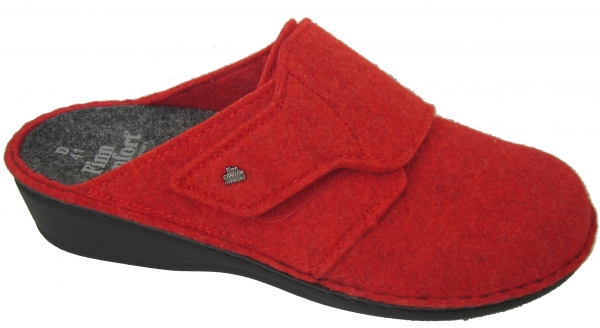 ANDERMATT Red/Wollfilz FinnComfort